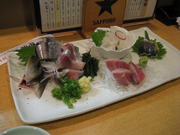 14.生イワシ刺と本日のお刺身3点盛り.jpg