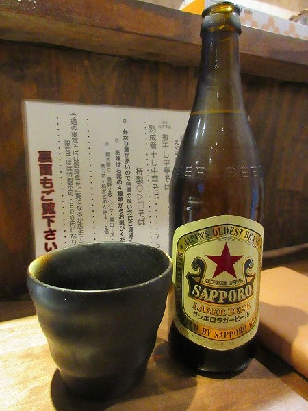 6.大阪では少数派のSAPPOROラガー.jpg