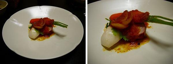 夕‐7.三元豚と朝採れ信州野菜のロースト・人参のソース.jpg