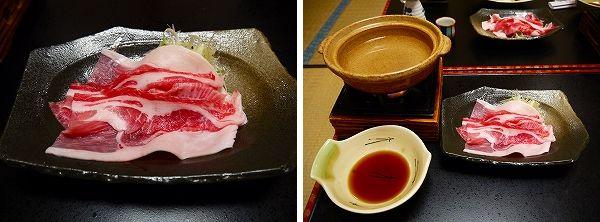 夕‐8.紅豚・ウデ肉のしゃぶしゃぶ・自家製ポン酢で.jpg